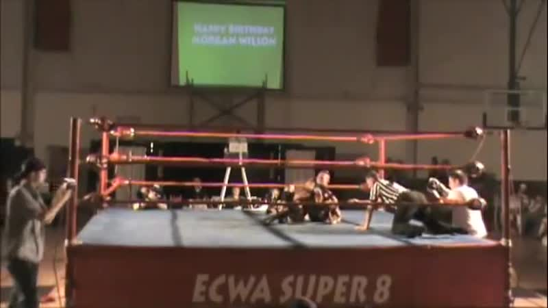 WH Xavier Woods ECWA Super 8 Tournament Vs. Tomasso Ciampa 10.07.10
