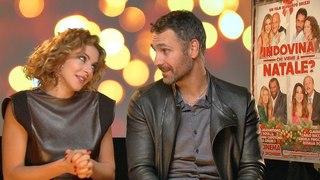 Video intervista a Claudia Gerini e Raoul Bova per Indovina chi viene a Natale?