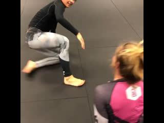 No-Gi drills Priscilla Herrera