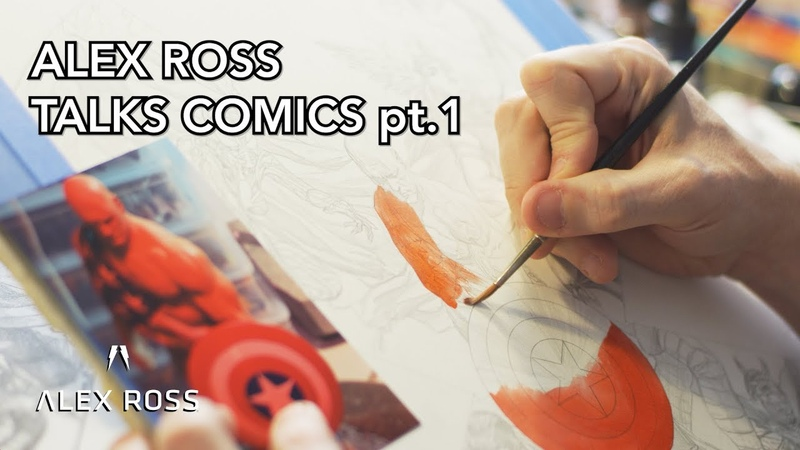 Alex Ross Talks Painting Comics pt 1