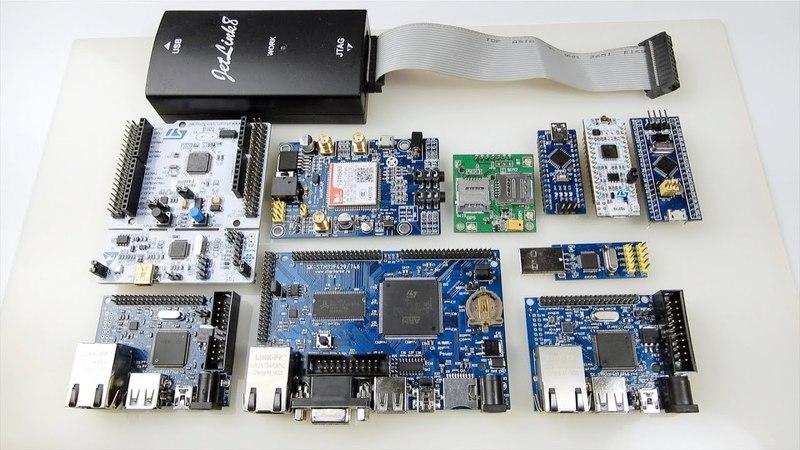 Платы StarterKit, stm32 nucleo, GPRSGNSS модули
