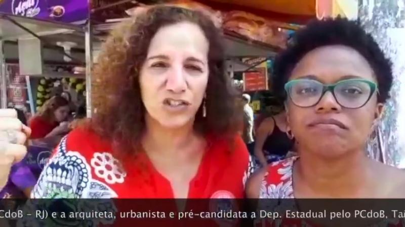 Jandira Feghali e Tainá de Paula por LulaLivre