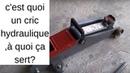 🚗 Comment fonctionne un cric hydraulique.