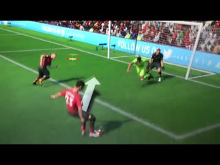 Удар скорпиона в FIFA 19