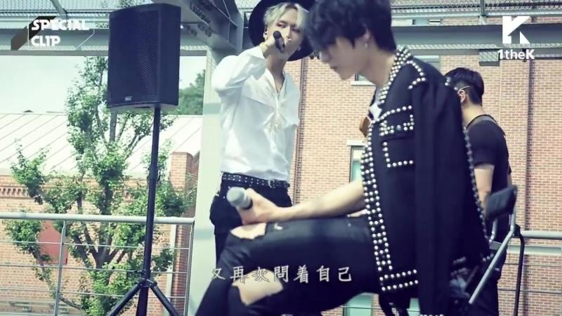 HD繁中字 VIXX LR Beautiful Liar Band Ver @1theK Special Clip 1