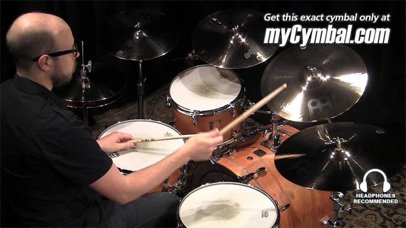 Meinl 16 Mb10 Medium Crash Cymbal Played by Gabriel Harris MB10 16MC B 1060413II