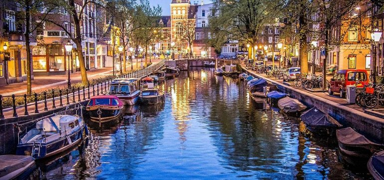 Амстердам. Каналы северной Венеции, изображение №3