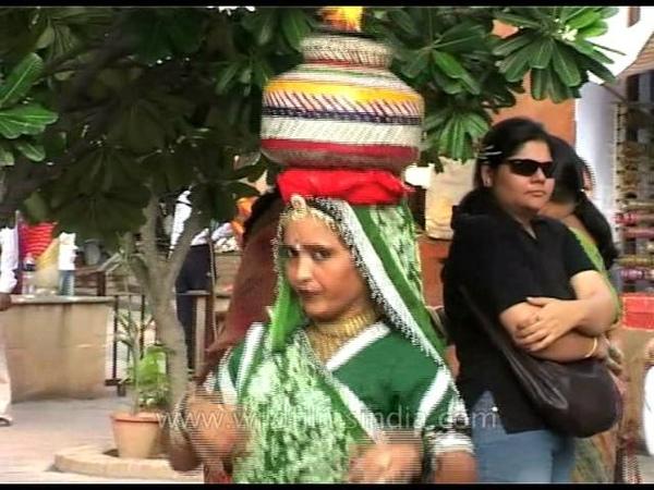 Balancing art of Matka dance in India!