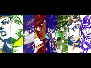 JoJo's Bizzare Adventure All Openings and Endings [1-8] HD