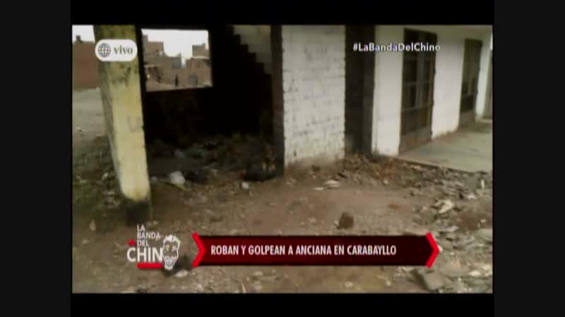 Nota Roban y golpean a anciana en Carabayllo