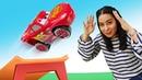 Spielzeug Kindergarten Spaß mit McQueen und seinen Freunden Spielzeugvideo für Kinder