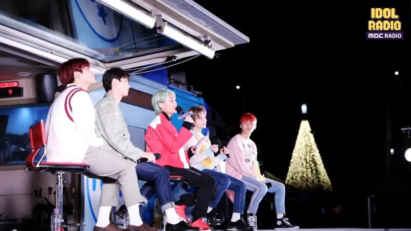 [BACKSTAGE] 190529 Ильхун, Джинхо и Хуи (PENTAGON), Мунбин и MJ (ASTRO) @ MBC 'Idol Radio'