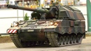 XXXL RC MODEL TANK PANZERHAUBITZE 2000 IN DETAIL AND MOTION!! RC SCALE ARMY TANK