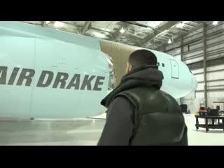Drake показал свой личный самолёт за $100,000,000
