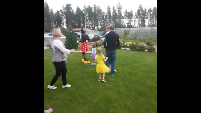 4 года Леночке, 10лет брака Стасс и Кати, 35 лет брака дядиСаши и тетиНелли = отличнейший праздник