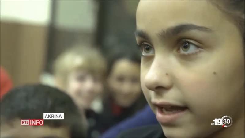 A Alep, la vie reprend son cours deux ans après la libération de la ville. Les Chrétiens s'y apprêtent à fêter Noël