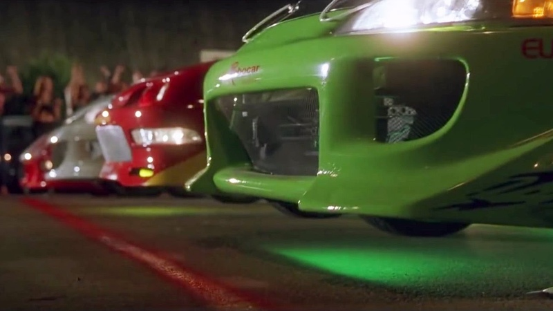 FAST and FURIOUS Street Race RX7 vs Civic vs Integra vs Eclipse 1080HD car info