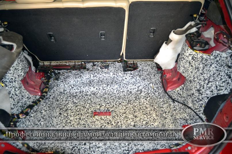 Комплексная шумоизоляция Land Rover Evoque, изображение №10
