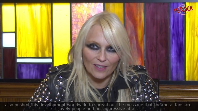 Doro im Interview bei M-Rock