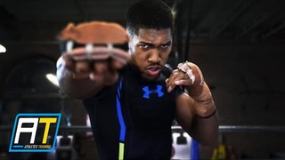Anthony Joshua Training For Alexander Povetkin | Athletes Training