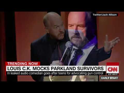 Comedian Louis C.K. mocks Parkland shooting survivors in leaked audio