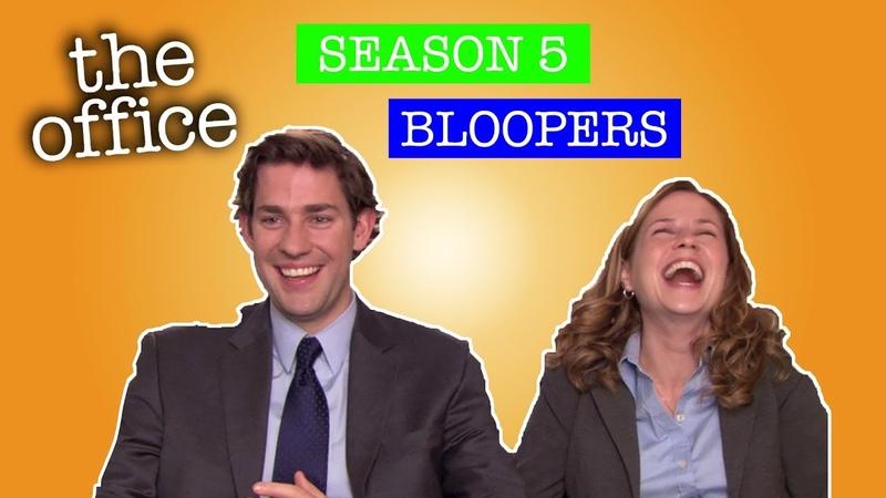 Season 5 Bloopers - The Office US