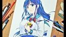 Drawing Anime Girl Sanshokuin 三色院菫子 ORESUKI