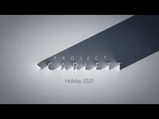 Xbox project scarlett — e3 2019 — reveal trailer