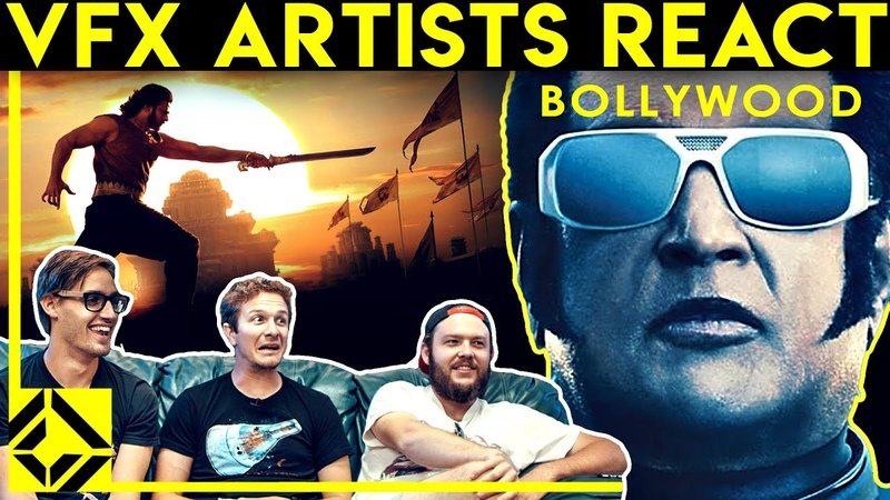VFX Artists React to BOLLYWOOD Bad Great CGi