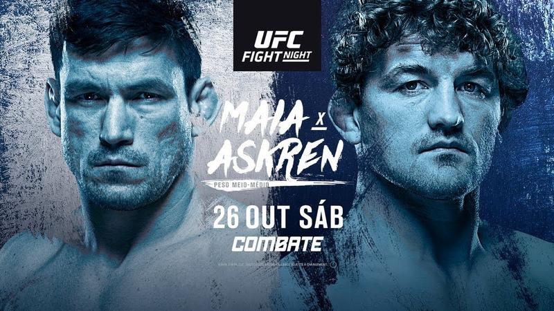 UFC Singapura Maia x Askren