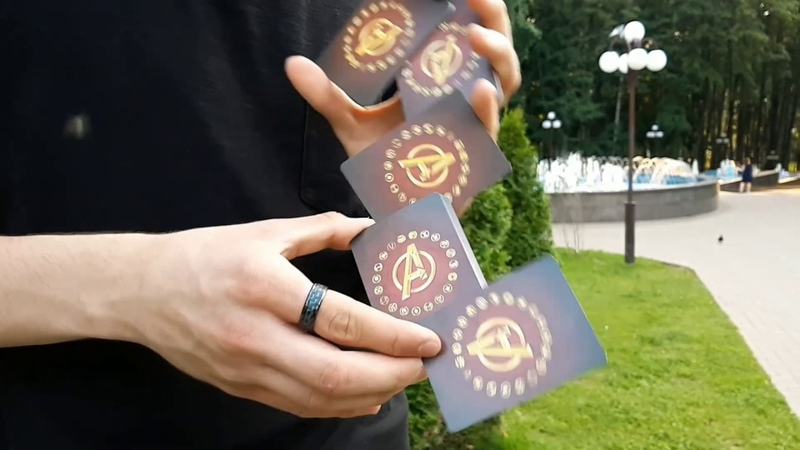 CARDISTRY SEVCARDS MARVEL Кардист Миша Муржак