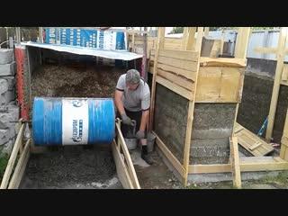 Самодельная бетономешалка строим дом своими руками