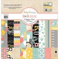 Набор бумаги для скрапбукинга BoBunny 15616304 Baby Bump Collection Pack 19 лист. 30х30см 1251 р