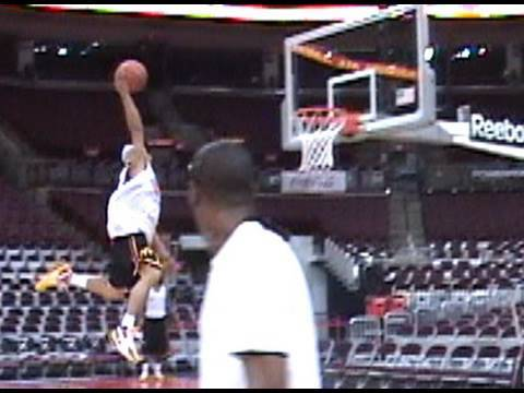 TFBDunks 59 TDUB Dunks from the Free Throw Line off of 2 FEET! (Josh Selby Approved!)