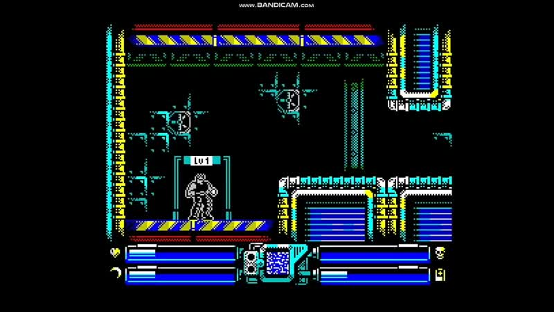 "Power Blade"" ZX Spectrum gameplay 128k version"