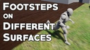 UE4 Tutorial Footstep Sounds on Different Materials Request