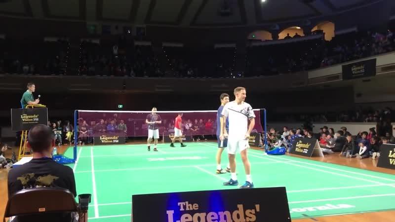 Lee Yong Dae Peter Gade vs Tony Gunawan Howard Bach Badminton
