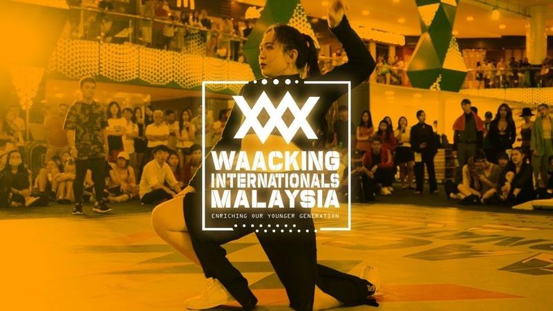 Wei Chee vs CHuAN   1v1 Top 32   Waacking Internationals Malaysia 2019   RPProds