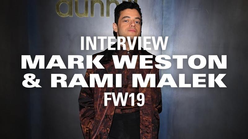 Rami Malek Felt More Like Freddie Mercury Than Mr Robot at Dunhill's PFW Show