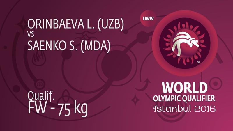 Qual FW 75 kg S SAENKO MDA df L ORINBAEVA UZB by FALL 4 0