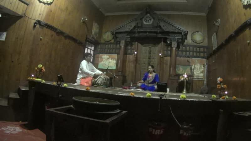 Kerala Kathakali Centre Indian classical music Центр традиционного театра Катхакали в Кочи Индийская классическая музыка