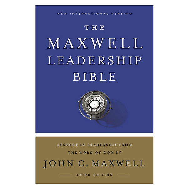 NIV, Maxwell Leadership Bible, 3rd Edition