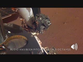 Sounds of mars- nasa's insight senses martian wind