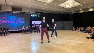 Kyle Redd & Victoria Henk - SwingTime 2019 Peer Vote Invitational Jack & Jill 1st Place