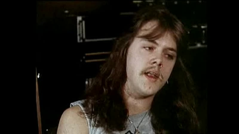 Metallica - Lars Ulrich - Da han var ung (Interview 1984 from - Heavy Metal - 16.10.1984 Doc.)