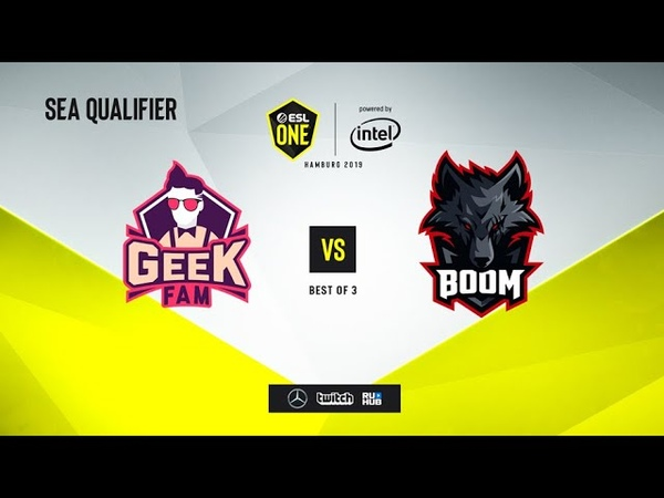 Geek Fam vs BOOM Esport, ESL One Hamburg 2019 QL, bo3, game 2 [Maelstorm]