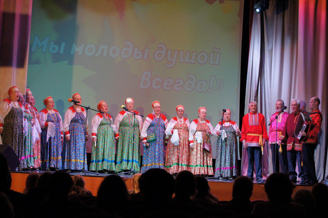 В Некрасовке провели концерт для старшего поколения