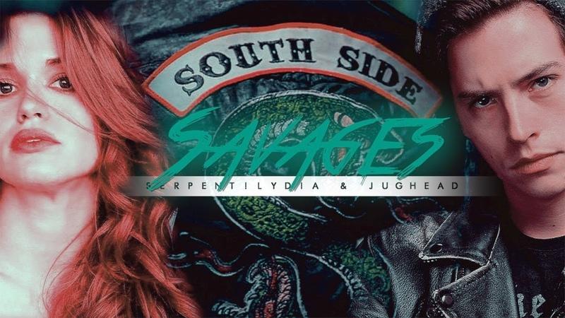 Serpent!Lydia Jughead | Savages ᶜʳᵒˢˢᵒᵛᵉʳ