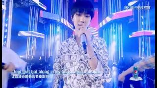 """180816 潮音战纪 (Chao Yin Zhan Ji) - """"Can't Stop the Feeling"""" (with Jun and The8)"""