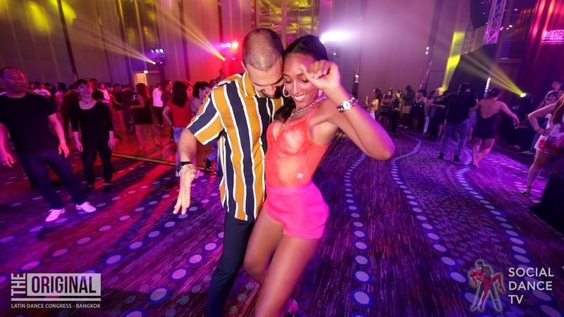 Gigi Bianco Bersy Cortez - Salsa Social Dancing | The Original Latin Dance Congress 2019 (Bangkok)